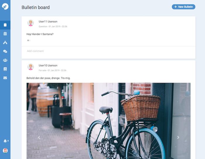 CondoButlr Bulletin Board